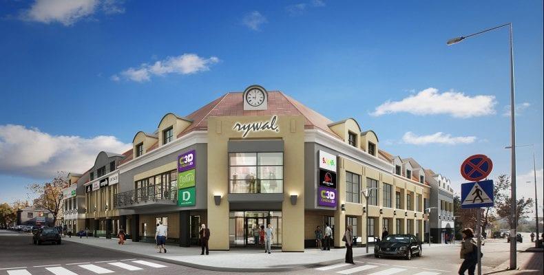 Торговый центр Rywal (Ривал) в Бяла-Подляске